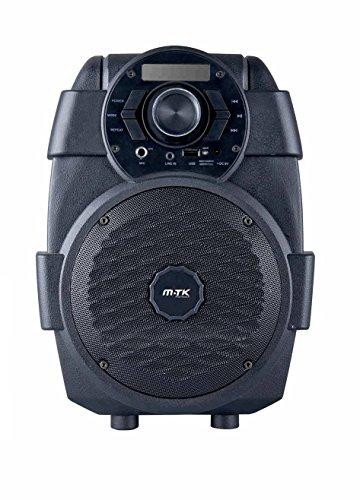 Altavoz Bluetooth Karaoke Line In USB FM Radio Bateria Recargable Microfono Led