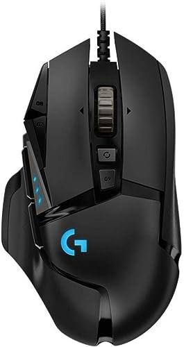 Mouse Gamer RGB Logitech G502 HERO com Tecnologia LIGHTSYNC, Ajustes de Peso, 11 Botóes Programáveis e Sensor HERO 16K