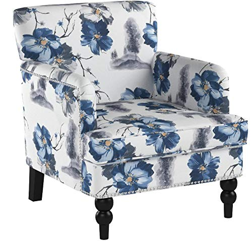 Christopher Knight Home Boaz Fabric Club Chair – Floral Print