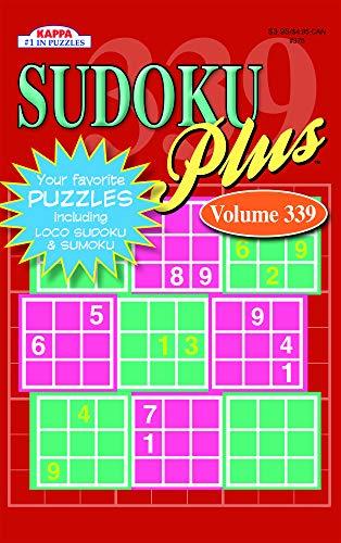 Sudoku Plus Puzzle Book-Volume 339