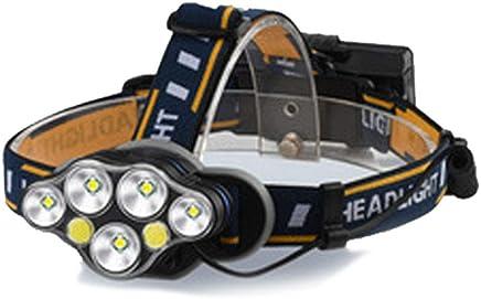 0 ℃ Outdoor Scheinwerfer wiederaufladbar, LED-Scheinwerfer 4 Modes LED Work Headlight Waterproof Head Torch für Camping, Laufen, Wandern, Angeln B07PVHSCCR       Tadellos