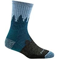 Side Profile View of Women's Darn Tough Treeline Micro Crew Cushion Sock