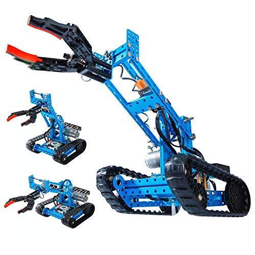Makeblock mBot Ranger Robot Kit with Robot Arm, Premium Quality Build Robot, STEM Education,...