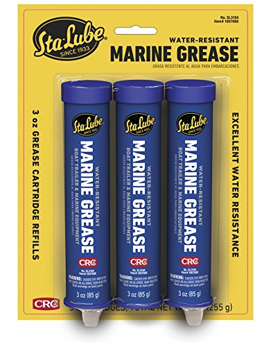 CRC SL3184 Marine Grease for Boat Trailer and 4x4 Wheel Bearing, 3oz Cartridge