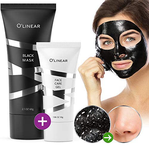 Black Charcoal Mask Blackhead Remover - Face Peel Off Mask With Natural Activated Organic...