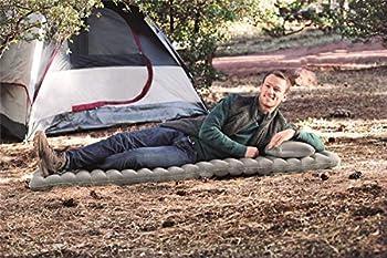Bestway Flexchoice Pavillo lit simple 190 x 70 x 10,5 cm, matelas de camping gonflable avec design ajustable