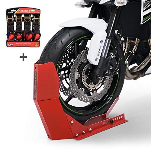 Motorradwippe RD + Spanngurten für BMW R 100 R/RS