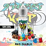 E liquide Red Diablo - 50ml - Street Vap - Sans nicotine ni tabac