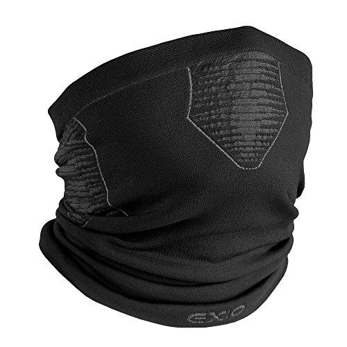EXIO(エクシオ) UVカット フェイスマスク ブラック フリーサイズ