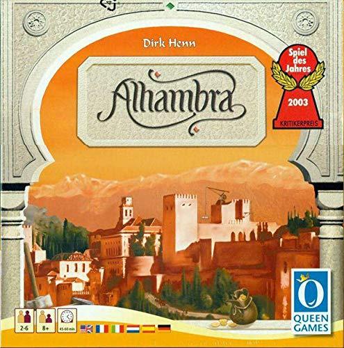 Devir Iberia 26690 Alhambra, Multicolor