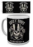 1art1 Guns N' Roses, Los Angeles, Cráneo Taza Foto (9x8 cm) Y 1x Taza Sorpresa