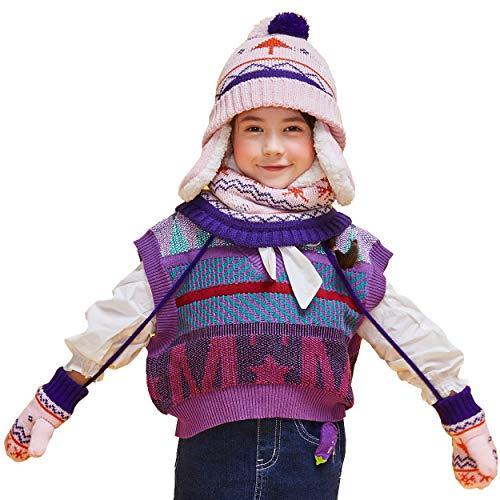 Set de bufanda, gorro y guantes para Niño marca TRIWONDER