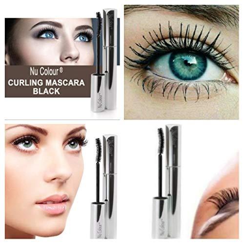 Nu Color Curling Mascara, Schwarz, 9 g