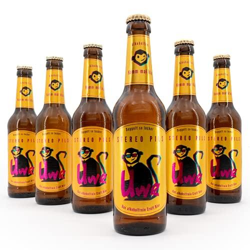 Uwe – das alkoholfreie Craft Bier | Stereo Pils | 6 x 0,33l
