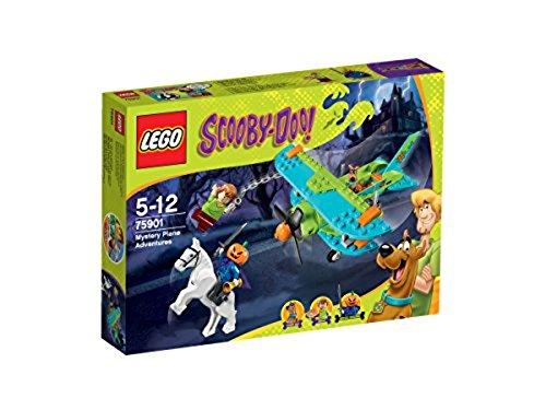 Lego Scooby-Doo - 75901 - Jeu De Construction - Les Aventures Mystérieuses en Avion