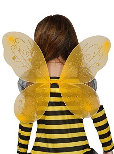 Guirca Alas Color Amarillas para niña