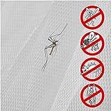 AMANKA Feuerfestes Moskitonetz 2,5x13,5 m Stern Baldachin Betthimmel Mückennetz - 4