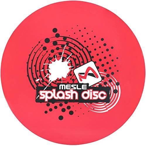 MESLE Teller Splash Disc 74, Wasserski Scheibe, Water-Toy, rot