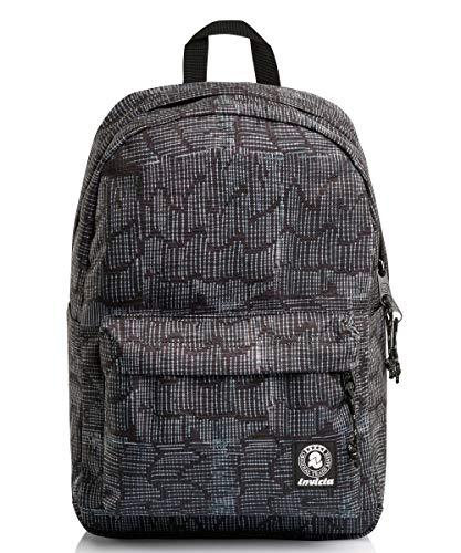 Carlson Fantasy Backpack - Invicta - Grey - Eco Material