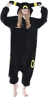 Adult Umbreon Unisex Pyjamas Halloween Onesie Costume