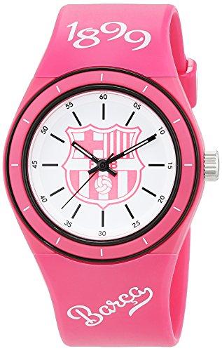 Seva Import Barcelona Reloj, Unisex Adulto, Rosa/Blanco, Talla Única