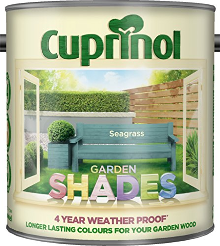 New 2017 Cuprinol Garden Shades Seagrass 2.5L