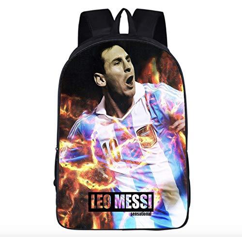 N\A Mochila Escolar de Messi