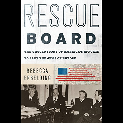 Rescue Board audiobook cover art