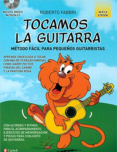 TOCAMOS GUITARRA+CD MET.FACIL PEQ.GUITA. N/ED.