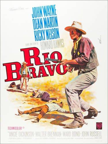 Poster 30 x 40 cm: Rio Bravo von Everett Collection - hochwertiger Kunstdruck, neues Kunstposter