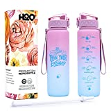 H2O Capsule INSPO 32 Oz -Water Bottle with Time Marker...