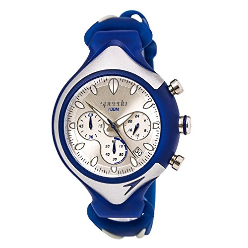 Speedo Analog Chrono Silver Dial Men's watch #SD55162BX