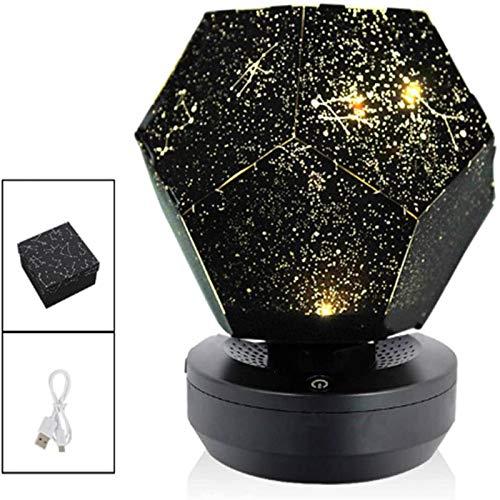 Proyector De Luz De Estrella Luz De Noche De Galaxia 2 En 1...