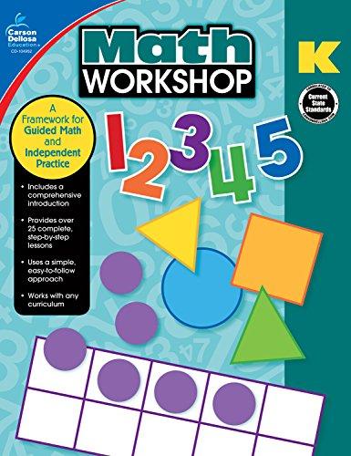 Carson-Dellosa Math Workshop Resource Book Grade, K