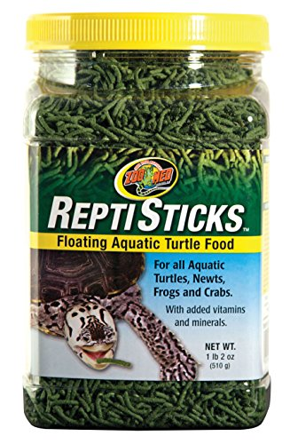 Zoo Med Reptisticks Floating Aquatic Turtle Food Size: 1.2 lbs