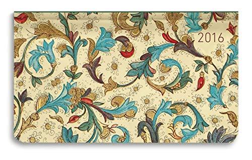 Ladytimer Pad Blossoms 2016 - Taschenplaner / Taschenkalender quer (16 x 9) - Weekly - 128 Seiten