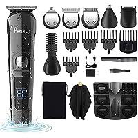 PhylnLis Cordless Electric Men's Hair Clipper Kit