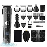 Beard Trimmer Men Cordless Electric Hair Clipper Kit Professional Body Grooming Shaver Suitable for Kids Family Barber PhylnLis 8688