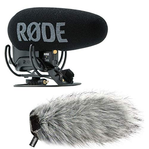 Rode Videomic Pro Plus camera microfoon + keepdrum vacht-windscherm WS03