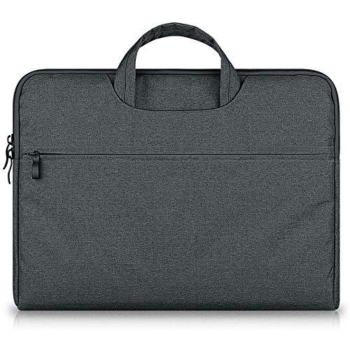 Cerobit N001 Laptop Sleeve Soft Zipper Pouch 11â€/12â€/13â€/15â€/15.6†Bag Case Cover for MacBook Air 13 Pro Retina 15 Notebook Bags Drop Ship_Color:deep Gray