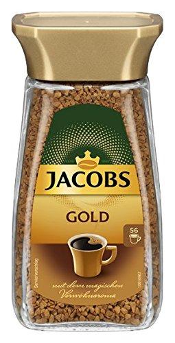 Jacobs löslicher Kaffee Gold, 100 g Instant Kaffee