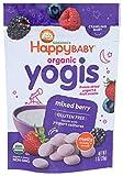 HAPPY BABY Organic Mixed Berry Yogurt Snacks, 1 OZ