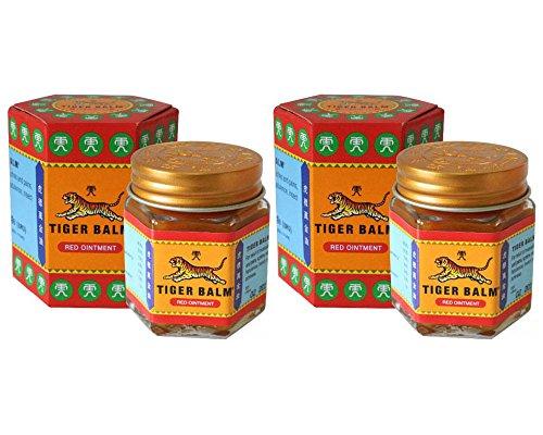 2 Jars of Tiger Balm Red Ointment 30g Jar (Large Jar!)