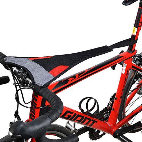 ROCKBROS(ロックブロス)ローラー台 汗防止カバー スウェットカバー 室内トレーニング 自転車 汗落ち防止 速乾 スマホンタッチ機能(通常版)