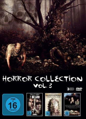 Horror Collection - Vol. 3 (3 Horrorfilme im Sammelschuber) 7 Below - Saturday Morning Massacre - The Forbidden Girl [Alemania] [DVD]