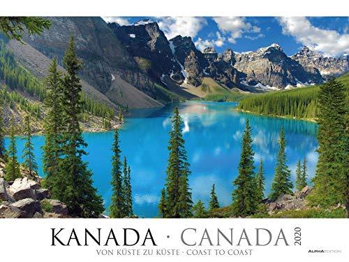 Kanada 2020 - Canada - Bildkalender XXL (64 x 48) - Landschaftskalender - Naturkalender - Wandkalender - Gebirge