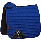 LeMieux Prosport Coton carré de Dressage Saddlepad L Benetton Blue