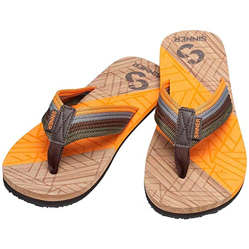 SINNER Manado Sandales pour Homme Orange Taille 41