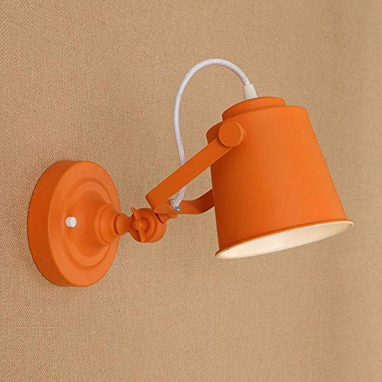 BAIF Kreative Persnlichkeit auf und ab Einstellbare Farbe Wandleuchte Gang Nachttischlampe Schlafzimmer Einfache Moderne Kinder Wandleuchte
