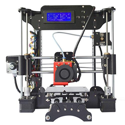 Stampante 3d XY stampante 3d bausatz completo regolabile realizzato Set di precisione professionale lcd hd 3d printer Kit stampa Dimensioni 120* 140* 130mm